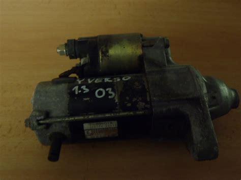 toyota yaris verso starter motor 1 5 t216 start 233 r toyota yaris verso 1 3 vvt i rok v 253 roby 1998 2006