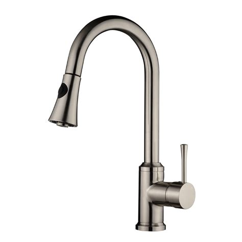 kitchen faucet with separate handle single handle kitchen faucet kf 500 strictly sinks