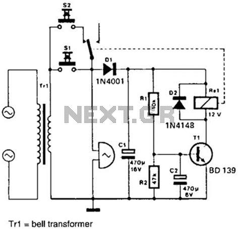 doorbell wiring and installation switch typical two