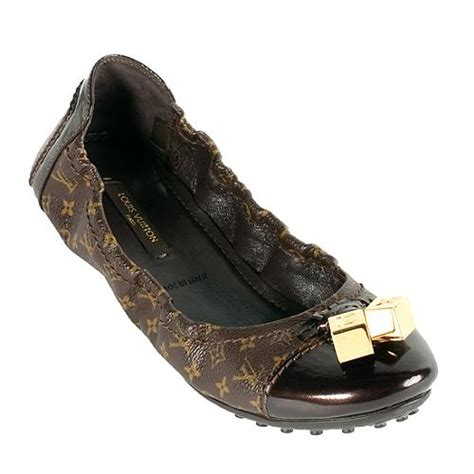 flat shoes louis vuitton louis vuitton monogram canvas lovely ballerina flats