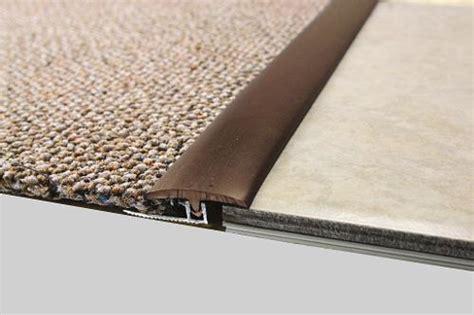 Carpet To Vinyl Transition On Concrete Floor   Carpet