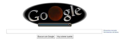 ver doodle de hoy estrena doodle por el eclipse lunar de hoy islabit