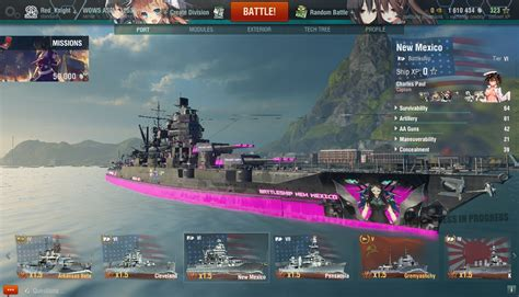 download mod game warship kantai collection and anime ship skin for wows world of