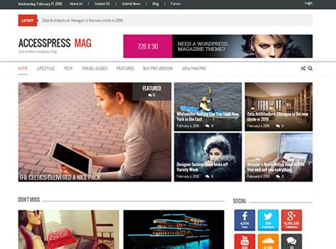 best design blogs 12 best wordpress themes for multiple author blogs in 2016