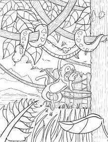 forest coloring pages rainforest coloring pages coloring pages to print