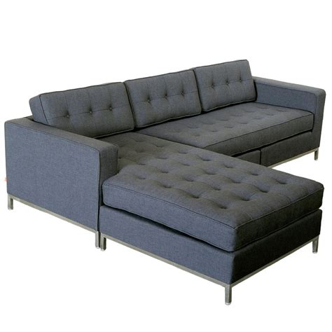 Tweed Sectional Sofa Gus Modern Tweed Ink Bi Sectional Eurway