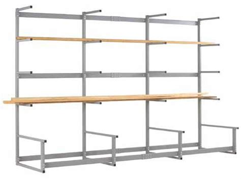 free standing lumber storage rack shain metal lumber storage rack lr 12m workshop tool