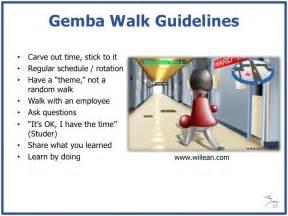 Gemba Walk Template by Gemba Walk Guidelines Carve