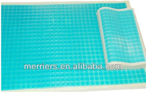 Thermo Gel Mattress by Thermo Gel Memory Foam Mattress Topper Cooling Gel