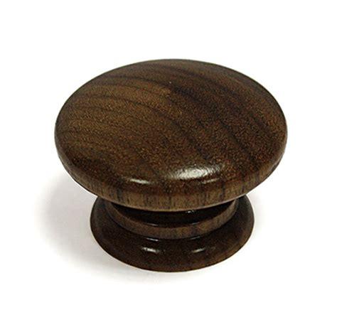Walnut Knob solid walnut knob lacquered 42mm