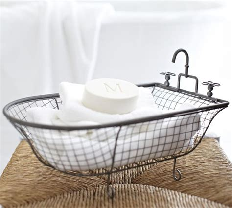 kirklands metal bathtub basket 16 99 http www