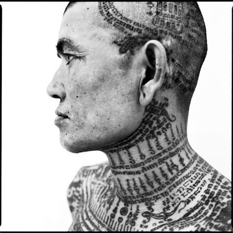yantra tattoo neck thailand s sacred tattoo tradition amazing photos