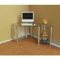 alfa img showing gt corner desk glass top