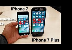 Image result for iPhone 7 Plus size