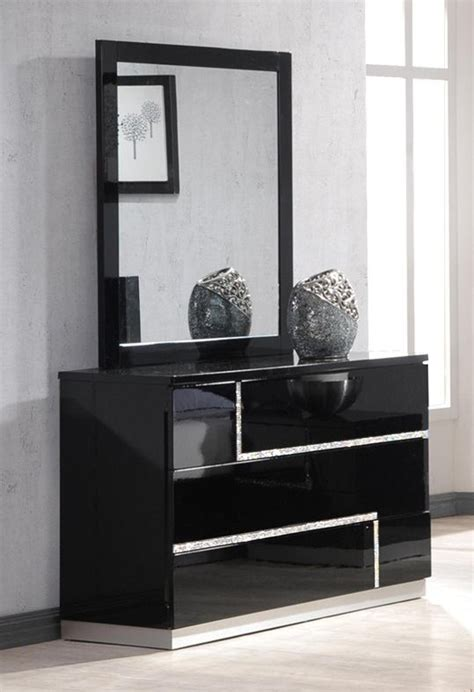 black lacquer dresser with mirror j m lucca dresser and mirror in black lacquer 17685 dm