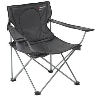 caribee king maker folding chair black
