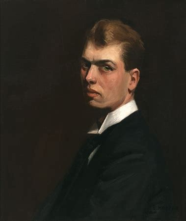 edward hopper portraits of autoportrait en 1903 de edward hopper