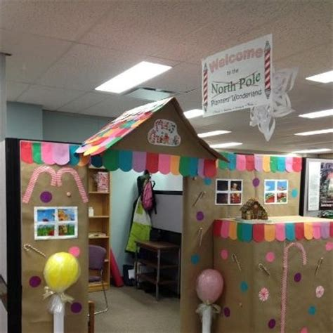 167 best cubicle christmas office decorating contest