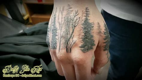 tattoo removal kamloops dwight s forest trees tattoo youtube