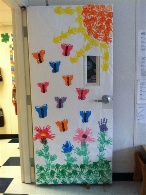 door decorations for spring spring door decoration tcv pinterest