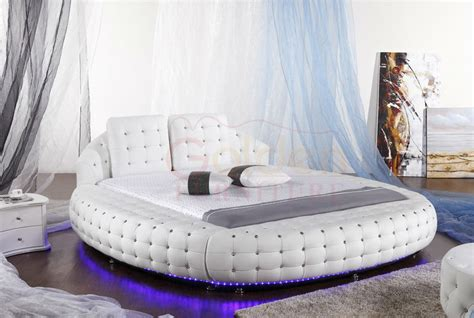 round beds for sale led lather round beds australia market hot sale buy