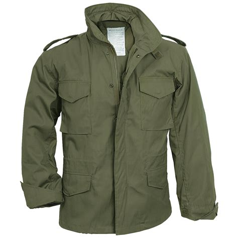 Jaket Army m65 field jacket coat army mens combat parka