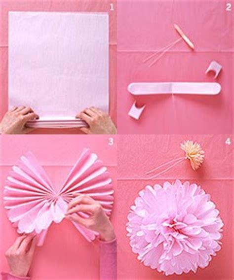 How To Make Kite Paper Flowers - sytieh cara2 nak buat bunga tisu