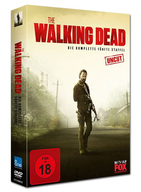 wann kommt staffel 5 the walking dead the walking dead staffel 5 box 5 dvds dvd filme