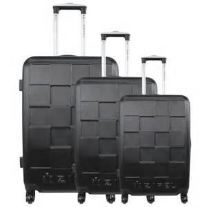lot de 3 valises rigides pas cher bagage solide