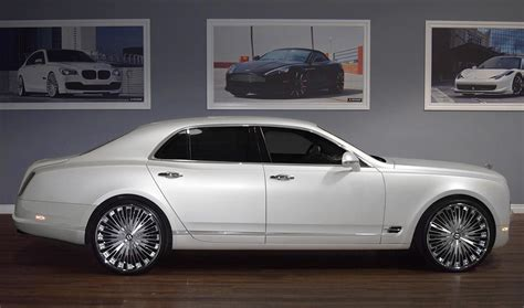 bentley mulsanne custom bentley with rims custom lf 734 on the bentley mulsanne