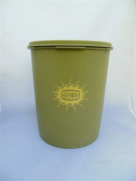 Midi Canister 5 Lt Tupperware tupperware servalier canister green cookie keeper 807 8 etsy canisters and green