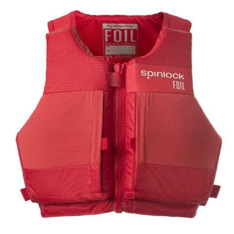 reddingsvest zeilen spinlock foil zeil zwemvest rood zwemvesten nl