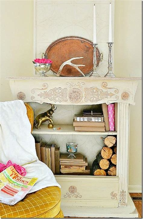 bookcase fireplace tutorial from bookcases fireplaces