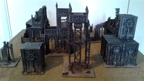 Dining Room Table Ideas by Warhammer 40 000 Cities Of Death Terrain Jodrell Plays Games