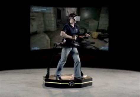 Omni Vr the cool new run around in reality treadmill geekologie