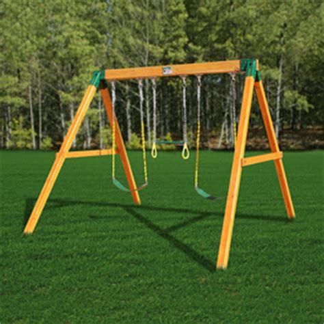 residential swing sets shop gorilla playsets free standing residential wood