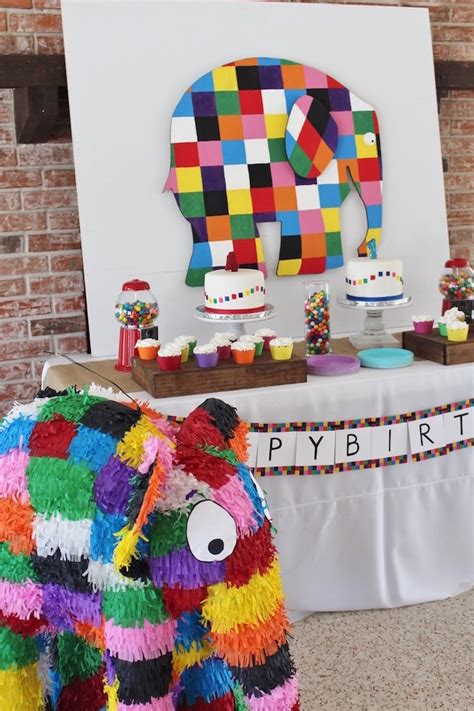 Rainbow Patchwork - kara s ideas rainbow patchwork quot elmer the elephant