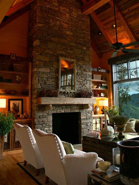 30 Stone Fireplace Ideas For A Cozy Nature Inspired Home | 30 stone fireplace ideas for a cozy nature inspired home