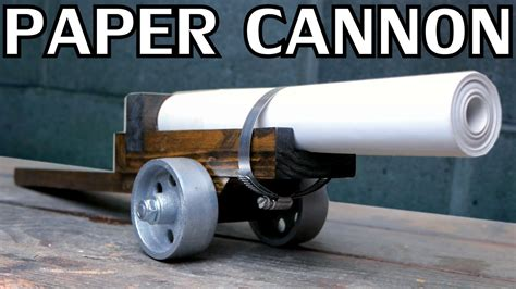 How To Make A Paper Cannon - building a paper cannon black powder nighthawkinlight