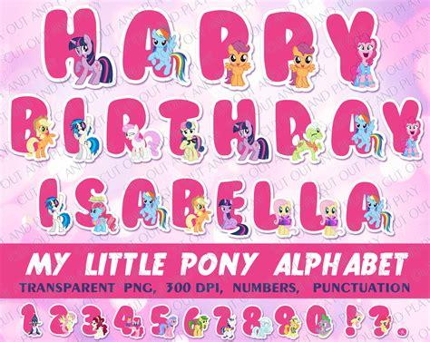 Bunting Flag Happy Birthday Banner Hbd Karakter Pony my pony princess celestia clipart 57
