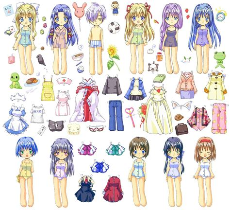 Paper Doll - paper dolls kiddies types on paper dolls