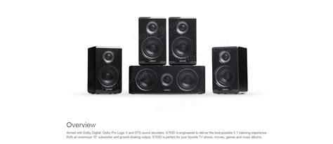Edifier Speaker S760d 5 1 edifier s760d 5 1 surround ses sistemi hoparl 246 r 252 sat莖蝓