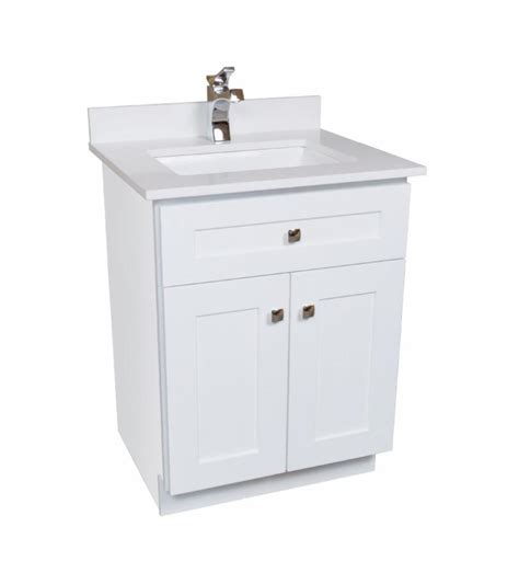 White Wood Bathroom Vanity 24 Maple Wood Bathroom Vanity In White Broadway Vanities