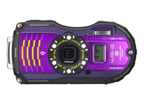 pentax compact compact 233 tanche pentax wg 3 gps violet au meilleur prix