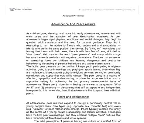 Effects Of Peer Pressure Essay by College Essays College Application Essays The Effects Of Peer Pressure Essay