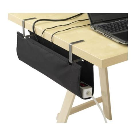 bench management signum cable organiser ikea attaches to a table top or tv