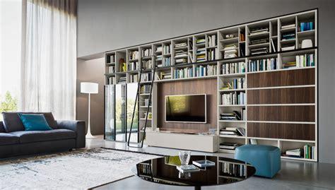 librerie da salotto libreria da salotto idee per il design della casa