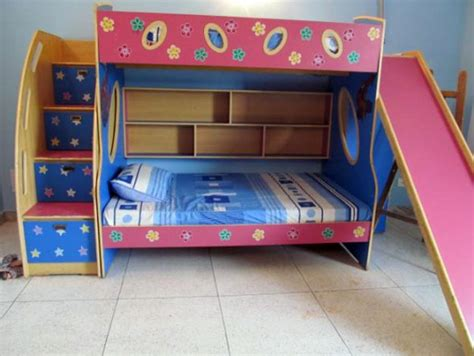 bunk beds for kids with slide bunk bed with stairs and slide