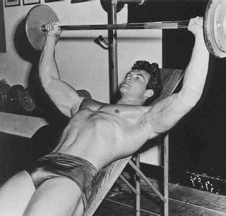 steve reeves bench press classic physique builder steve reeves intermediate