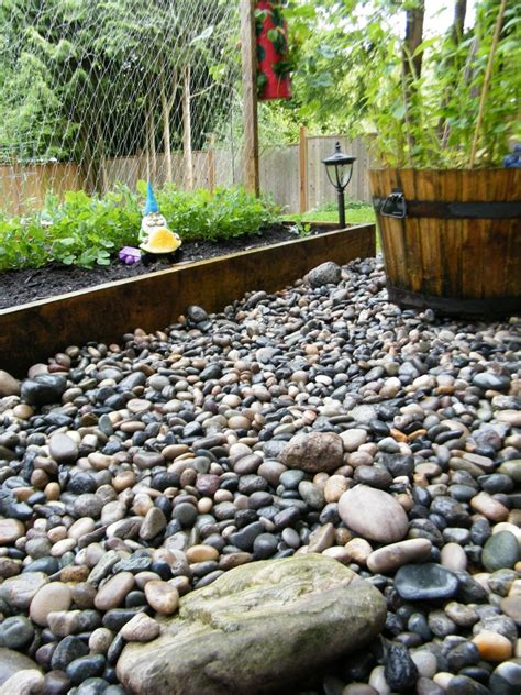 Landscape Rock Haul Away On The Rocks Backyard Transformations The Dandelion
